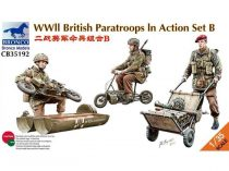 Bronco WWII British Paratroops in Action Set B