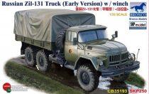 Bronco Russian Zil-131 Truck (Early Version) w/winch makett
