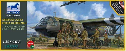 Bronco Airspeed A.S.51 Horsa Glider Mk.I makett