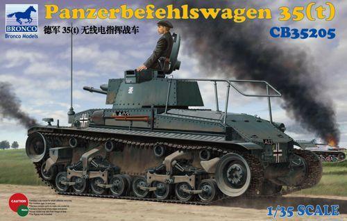 Bronco Panzerbefehlswagen 35(t) makett