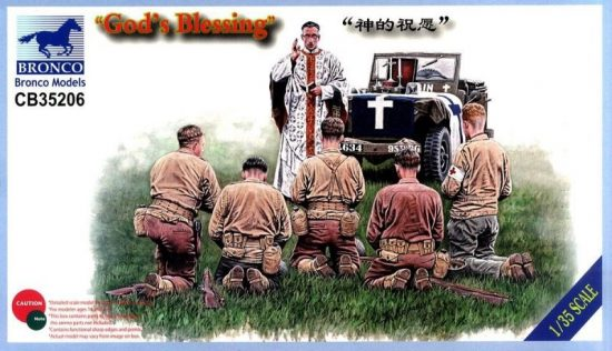 """Bronco """"God's Blessing"""" US infantry"""