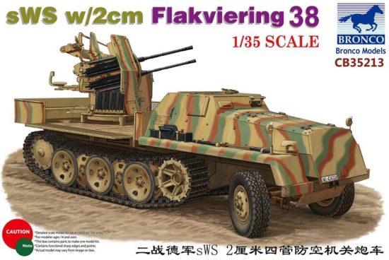 Bronco sWS with 2cm Flakviering 38