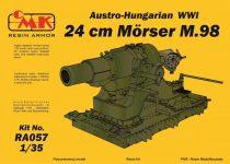 CMK Austro-Hungarian WWI 24 cm Mörser M.98 makett
