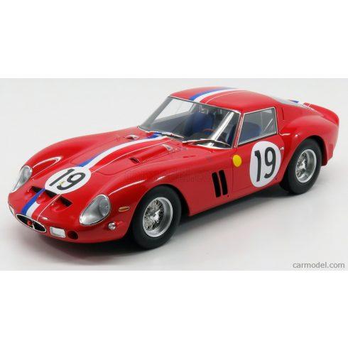 CMR FERRARI 250 GTO COUPE ch.3705 TEAM PIERRE NOBLET N 19 2nd 24h LE MANS 1962 J.GUICHET - P.NOBLET - CON VETRINA - WITH SHOWCASE