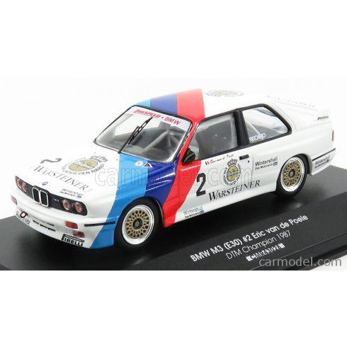 CMR BMW 3-SERIES M3 ZAKSPEED BMW TEAM N 2 CHAMPION DTM 1987 ERIC VAN DE POELE