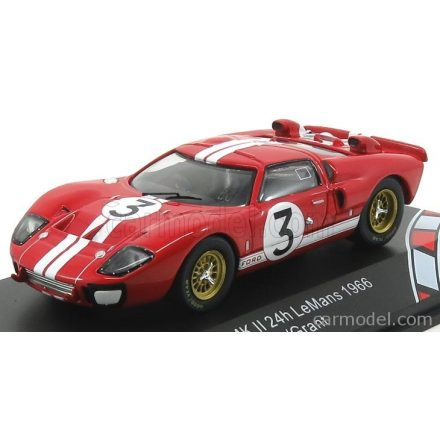 CMR FORD GT40 MKII N 3 24h LE MANS 1966 DAN GURNEY - JERRY GRANT