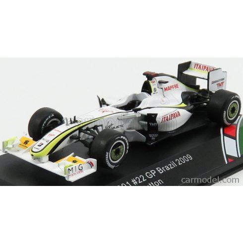 CMR BRAWN GP F1 MERCEDES BGP001 N 22 5th BRAZIL GP JENSON BUTTON 2009 WORLD CHAMPION