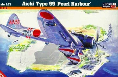 Mistercraft Aichi Type 99 Pearl Harbour makett