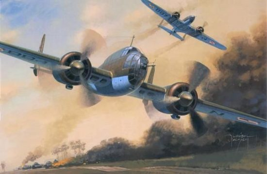 Mistercraft PZL P-37B Los II makett