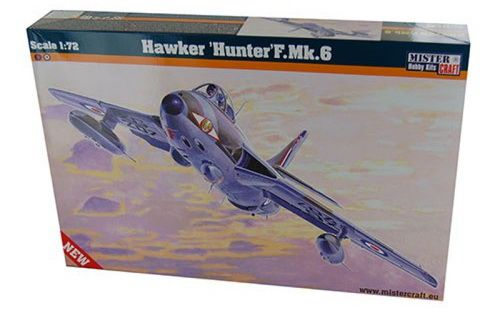 Mistercraft Hawker Hunter F.Mk.6 makett