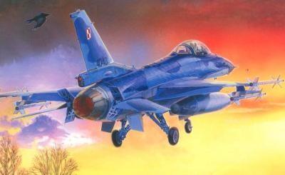 Mistercraft F-16CJ-52 Jastrzab/Hawk makett
