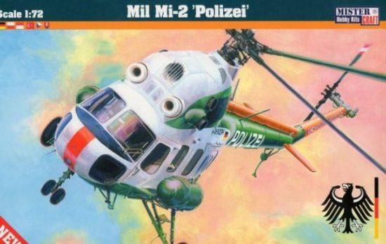 Mistercraft Mi-2 Polizei makett