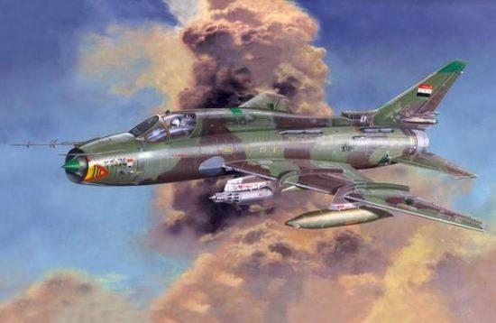 Mistercraft Su-22M4/R Desert Shield makett
