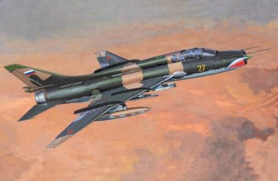 Mistercraft Su-17UM-3K makett