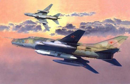 Mistercraft Su-17M3R Recon Fitter makett