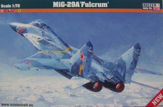 Mistercraft MIG-29 izd.9-12 Fulcrum makett