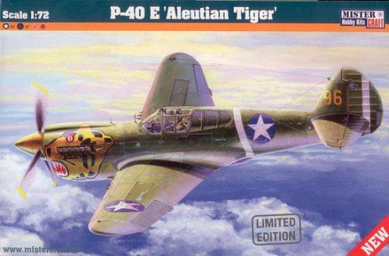 Mistercraft P-40E Aleutian Tiger makett