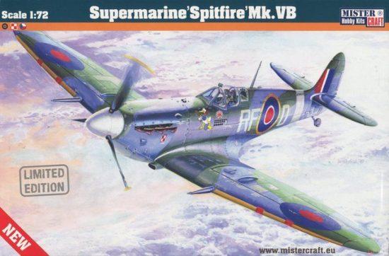 Mistercraft Supermarine Spitfire Mk.Vb makett