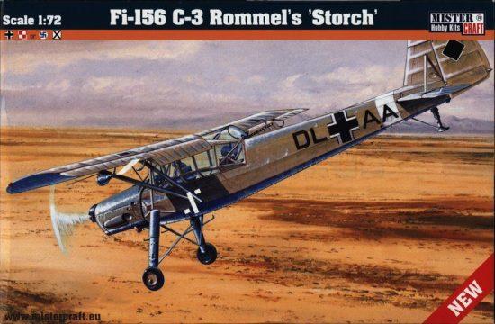 Mistercraft Fi-156 C-3 Rommels Storch makett