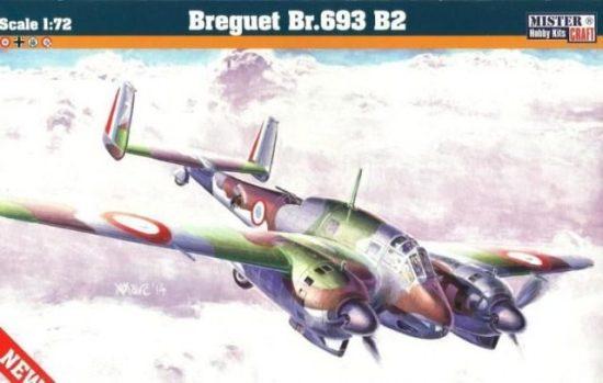 Mistercraft Breguet Bre.693 B2 makett