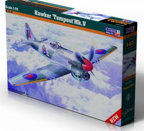 Mistercraft Hawker Tempest Mk.V makett