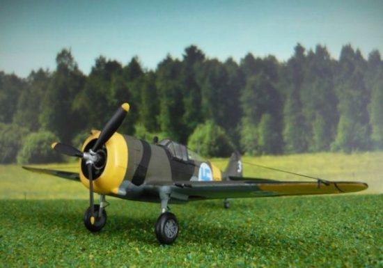 Mistercraft P-36/H.75 Hawk makett