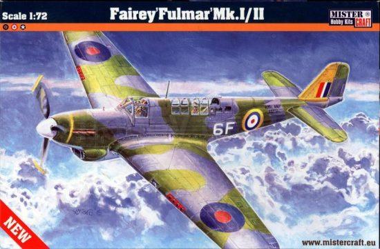 Mistercraft Fairey Fulmar Mk.I/II makett