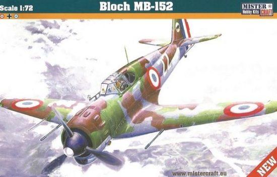 Mistercraft Bloch MB-152 makett