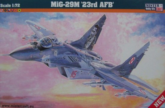 Mistercraft MIG-29M 23rd AFB makett