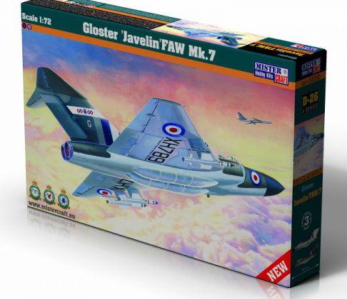 Mistercraft Gloster Javelin FAW MK.7 makett