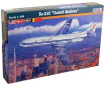 Mistercraft Se-210 United Airlines makett