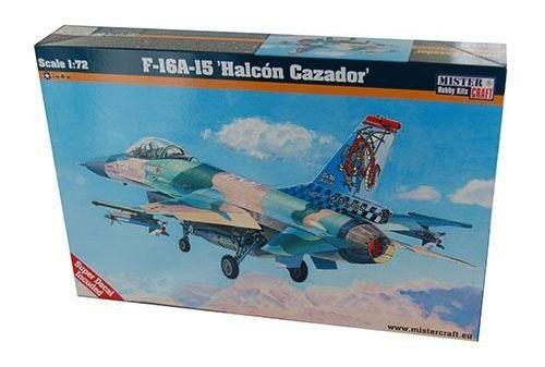 Mistercraft F-16A-15 Halcon Cazador makett
