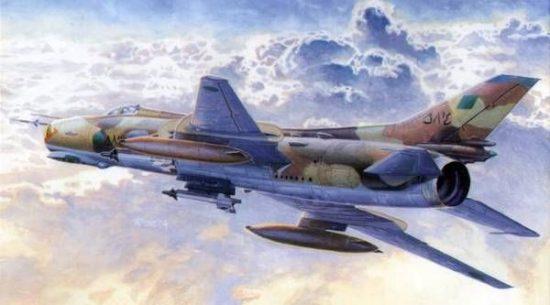 Mistercraft Su-20M2 Los Tigres makett