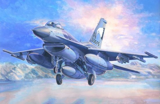 Mistercraft F-16C-40 Aviano A.B. makett