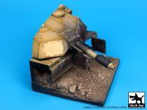 Black Dog Destroyed M1A1 Abrams base