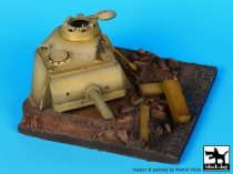 Black Dog Panther turret base