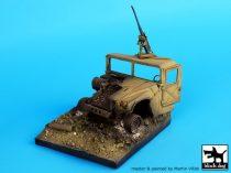 Black Dog Destroyed Humvee base