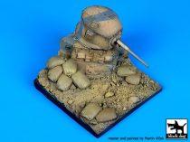 Black Dog Destroyed M3A1 Stuart base