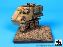 Black Dog Destroyed M 113 base