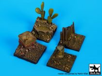 Black Dog Base 4 pieces