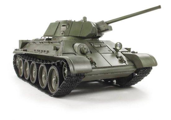 AFV T34-76 Model 1942 & Applique Armor makett