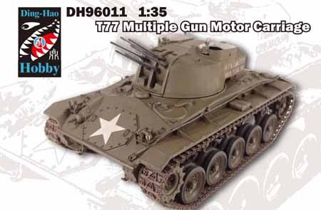 AFV Club T77 Multiple Gun Motor Carriage makett