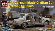 Diopark Mercedes Benz 200D with Living Supplies makett
