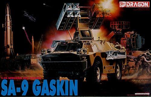 Dragon Russian SA-9 Gaskin makett