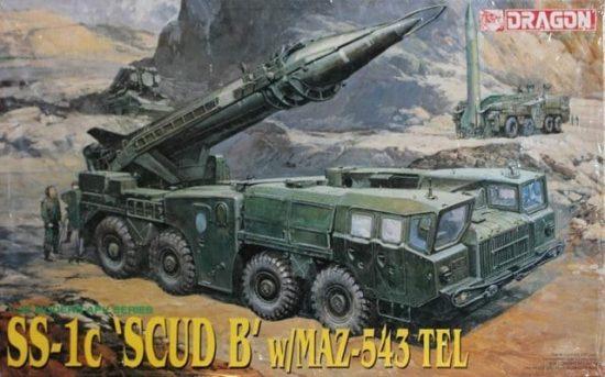 Dragon SS-1c SCUD B w/MAZ-543 TEL makett