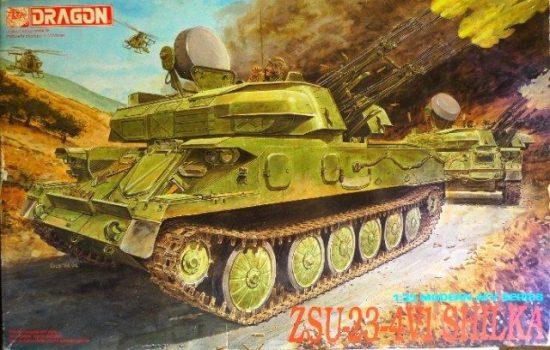 Dragon ZSU-23-4V1 Shilka makett
