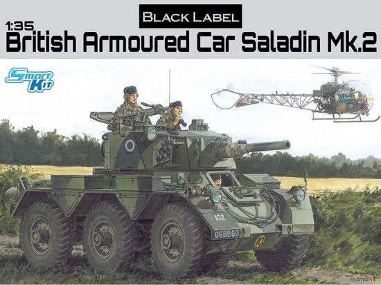 Dragon Armoured Car Saladin Mk.2 makett