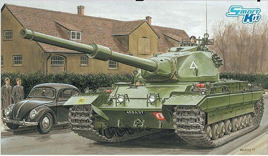 Dragon British Heavy Tank Conqueror Mark 2 makett