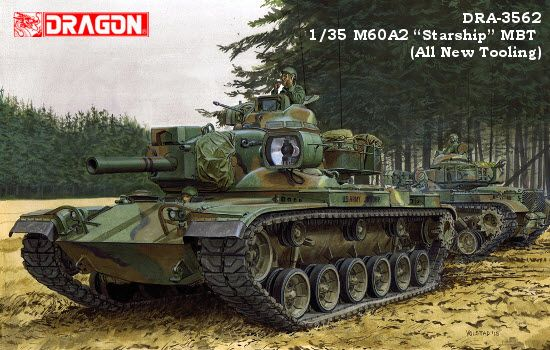 Dragon M60A2 Starship MBT makett