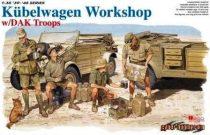 Dragon Kubelwagen Workshop w/DAK Troops